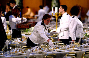 Banquet services cancun